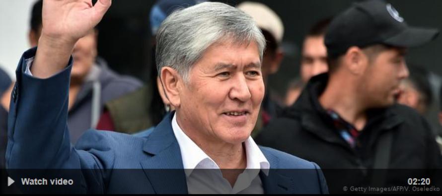 Ղրղզստանի նախկին նախագահը ձերբակալվել է երկրորդ փորձից հետո